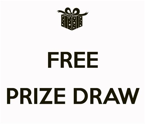 free draw free prize draw poster chasing keep calm o matic