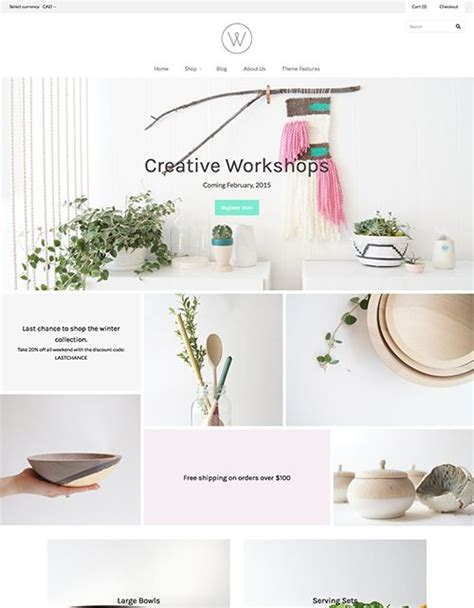 best free themes on shopify 39 best shopify themes images on pinterest website