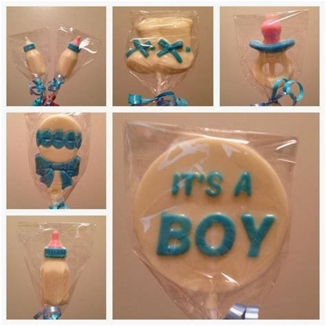 julie bakes white chocolate lollipops - How To Make White Chocolate Lollipops For Baby Shower