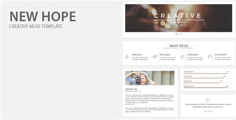 themes in new hope new hope creative muse template by barisintepe themeforest