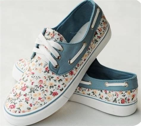 floral canvas shoes for printed sneaker flats on luulla
