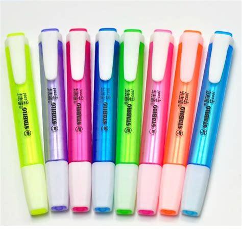 Sale Stabilo Neon Highlighter Warna Pink Aliexpress Buy Stabilo 275 Fluorescent Pen Swing