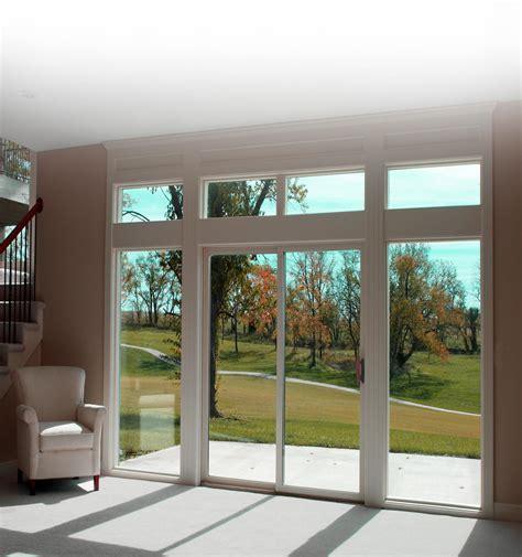Glazed Patio Doors Slider
