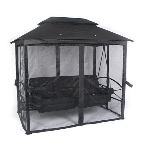 luxor swing seat customer reviews for ellister luxor swing seat gazebo black