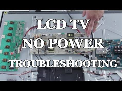 rca tv wont turn on light toshiba tv repair blinking light doovi