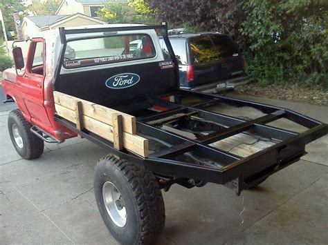 custom truck beds i want a custom flatbed for my truck fabricators look