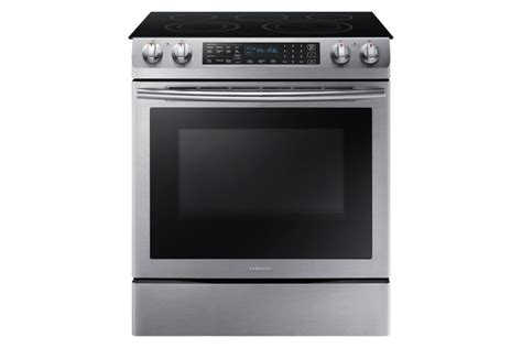 27 Inch Wide Slide In Electric Range by Ranges Stove Oven The Home Depot Canada