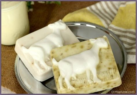 Handmade Goat Milk Soap Recipe - goats milk soap recipe also works with other milks