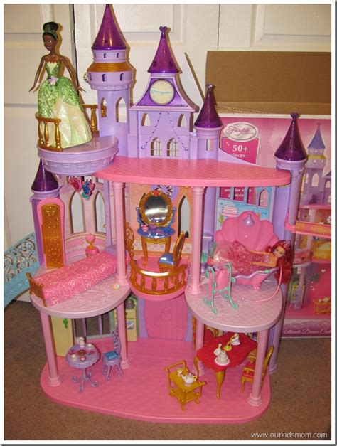 disney princess barbie doll house hgg mattel disney princess ultimate dream castle review