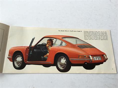 Porsche 912 Carrera by 1960s Porsche 911 912 Carrera Porsche Dealer Sales