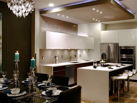 Délicieux Deco Salon Moderne Contemporain #9: faux-plafond-suspendu-cuisine.jpeg