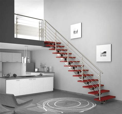 modern basement stair kits how to build basement stair