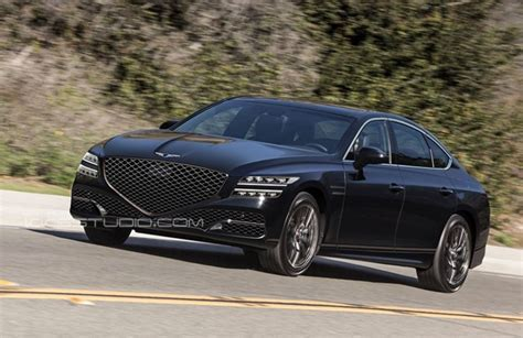 Hyundai Genesis 2020 by 2020 Genesis G80 Could Look Like This Autoevolution