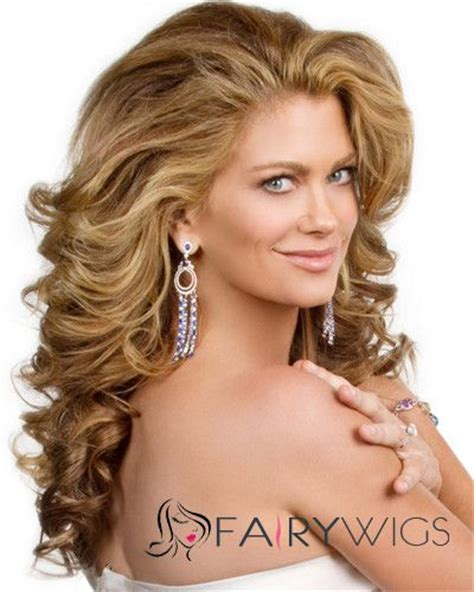 real hair wigs for white women super smooth best lace front long wavy blonde real human