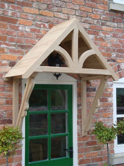 Timber Front Door Canopy Oak Timber Front Door Canopy Porch Made Blakemere Ebay