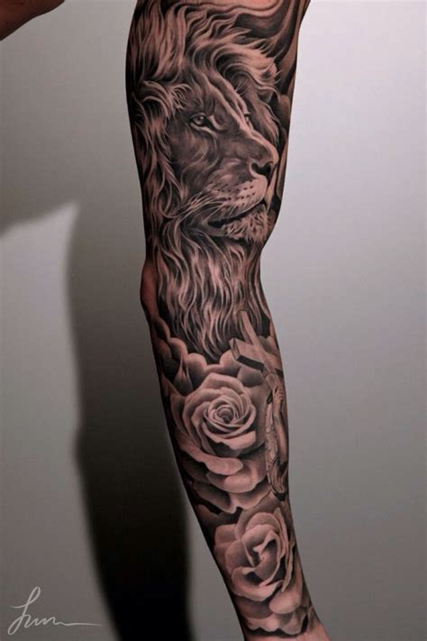 23 tattoo design 23 beautiful leo arm tattoos