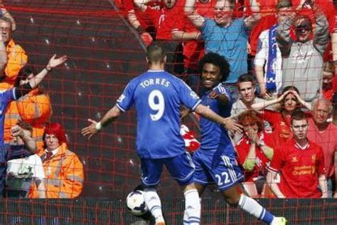 Liverpool f c stunned by chelsea to blow premier league title race wide open financial express