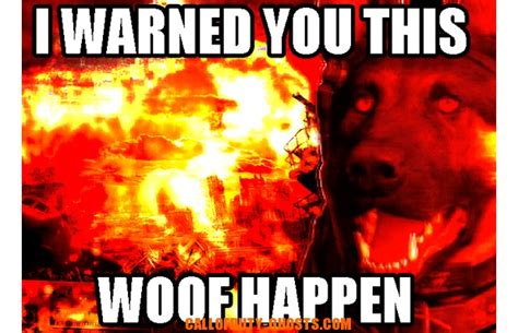 Call Of Duty Dog Meme - cod ghosts dog call of duty dog know your meme