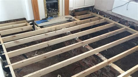 air floor in construction suspended timber floor and how to build a floating hollow