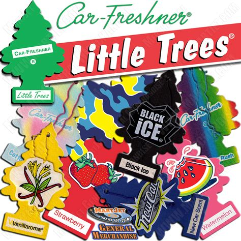 tree scents trees air freshener hanging car auto home office