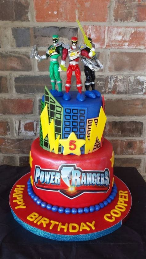 13 Power Rangers Party Ideas   Pretty My Party