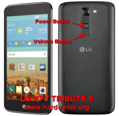 hard reset lg tribute 2 factory reset remove unlock pattern how to easily master format lg k7 tribute 5 with safety