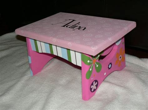 Painted Personalized Step Stools by 30 Best Images About Step Stool On
