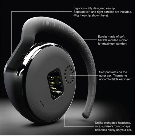 most comfortable bluetooth earpiece maverick lifestyle s nica sunrise the most comfortable