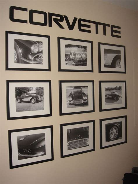 corvette wall words framed pictures of our corvette