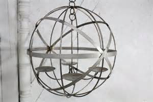Outdoor Wrought Iron Chandelier Wrought Iron Lg 24 Mystic Sphere Candle Chandelier