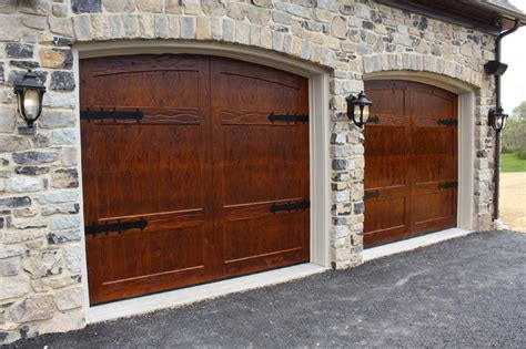 wooden garage doors rustic garage other by m4l inc