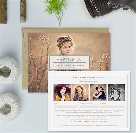 Photography Gift Certificate Templates 17 Free Word Pdf Psd Documents Download Free Photography Gift Certificate Template Free