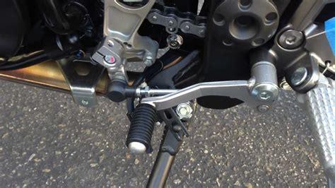 shift pattern kawasaki ninja 2013 ninja 300 gear shift lever adjustment and motogp