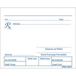 prescription pad template free ebook database