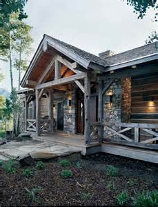 rustic homes rustic renewal in a reclaimed timber home
