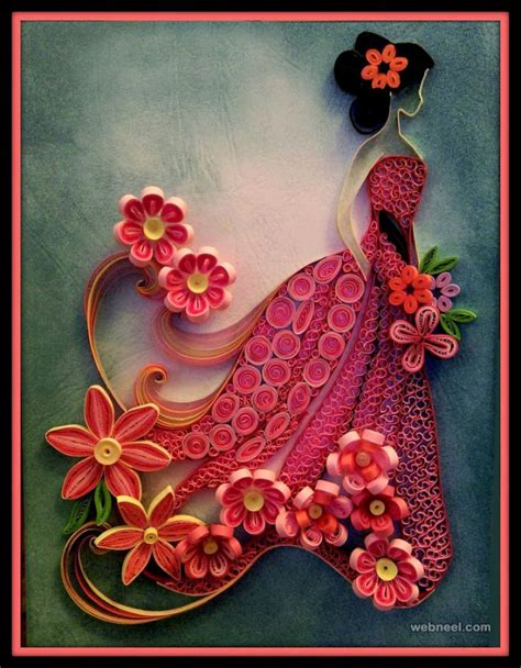 beautiful quilling flower designs  paper quilling cards