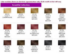 ion color brilliance chart ion color brilliance comparison chart brown hairs