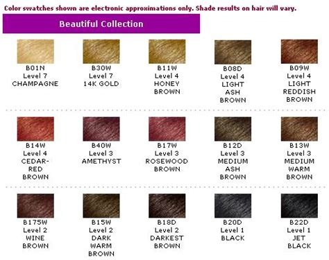 ion semi permanent hair color chart clairol professional semi permanent hair color directions