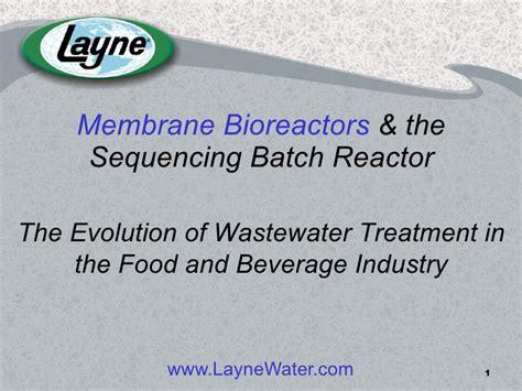design criteria sequencing batch reactor comparing membrane bioreactors the sequencing batch reactor