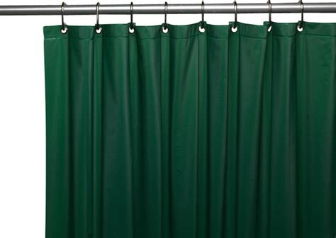 quality shower curtains hotel quality vinyl shower curtain evergreen