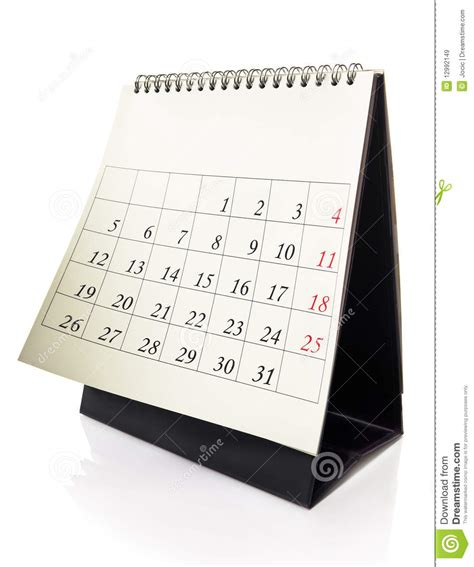 Sell Calendar Photos Desk Calendar Royalty Free Stock Images Image 12992149