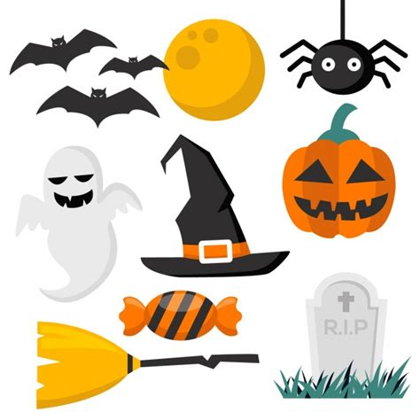 imagenes halloween vectores halloween elements collection vector free download