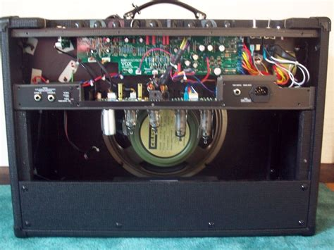 Vox Lug Cabinet article swapping a celestion greenback with a celestion blue in a vox ac15
