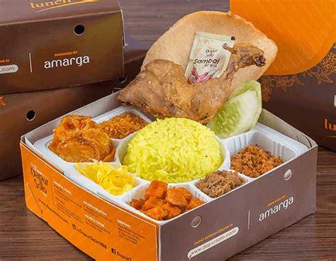 portal nasi kotak  menu terlengkap