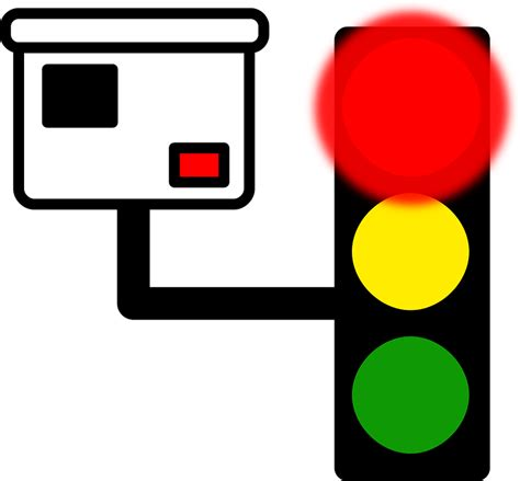 red light camera flash traffic light camera 183 free vector graphic on pixabay