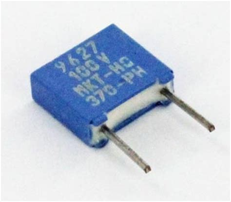 0 068uf 100v metallized polyester capacitor mkt370 philips west florida components