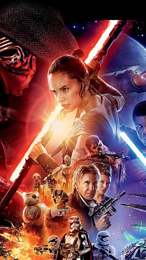 Wars The Awakens Poster Iphone All H for iphone x iphonexpapers