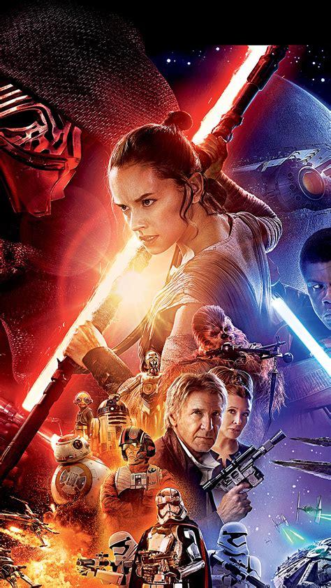 film seri star wars an78 starwars the force awakens film poster art papers co