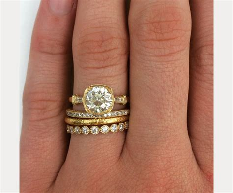 Wedding Ring Styles by Stacked Wedding Ring Styles That Ll Leave You Breathless