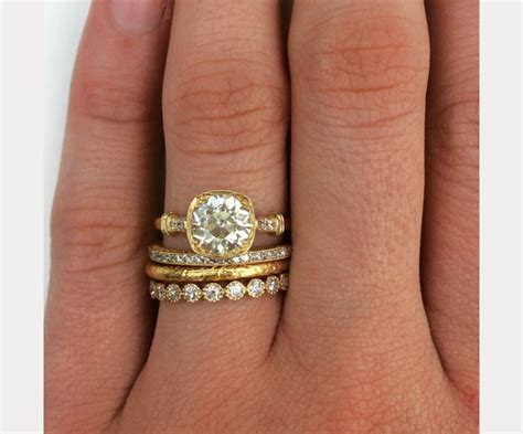 Stacked Wedding Ring Styles That'll Leave You Breathless